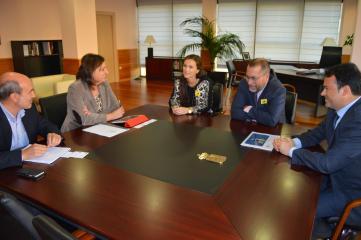 Patricia Franco traslada a la empresa EDP Renovables la apuesta del Gobierno regional por las energías de futuro