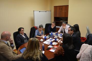 Reunión con el Instituto de Polibienestar de la Universidad de Valencia