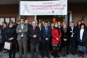 Pleno extraordinario y minuto de silencio convocados por el Ayuntamiento de Daimiel