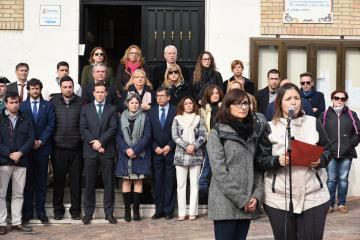 Minuto de silencio convocado por el Ayuntamiento de Seseña