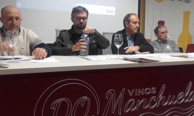 Nicolás Merino asiste a la presentación de la Ruta del Vino de La Manchuela