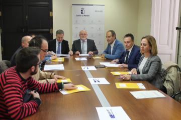 Reunión Comisión provincial de Empleo de Zonas Rurales Deprimidas Albacete 2018
