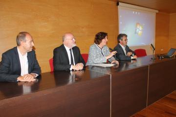 La consejera de Economía, Empresas y Empleo, Patricia Franco, clausura las Jornadas Formación Profesional para el Empleo