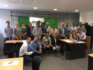 Encuentro con la Asociación de Economistas y Futuros Emprendedores en el #StartAB'08