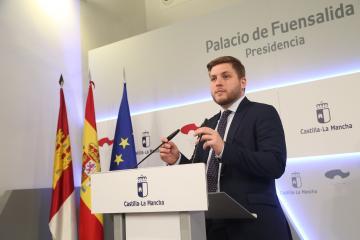 El portavoz del Gobierno regional ha informado de los acuerdos del Consejo de Gobierno