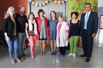 La directora del Instituto de la Mujer ha visitado la Escuela de Educación Infantil 'El Tobogán'