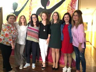 La directora del Instituto de la Mujer en funciones ha visitado hoy diferentes recursos en la provincia de Cuenca entre ellos este centro que es gestionado por ASERCO  El Gobierno regional destaca la labor del Centro de Atención Especializada para Mujeres