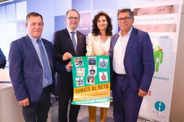 El director general de Asistencia Sanitaria del SESCAM en funciones, José Antonio Ballesteros, participa en la rueda de prensa organizada por ALCER con motivo del Día del Donante de Órganos