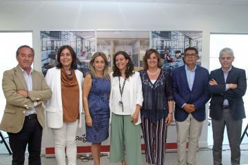 La consejera de Economía, Empresas y Empleo en funciones asiste a la inauguración de Regus Toledo