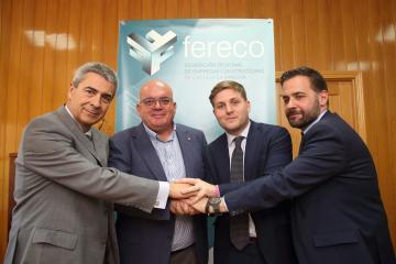 """El Gobierno regional reconoce a las empresas del sector de la construcción como """"aliadas que nos permiten construir futuro"""""""