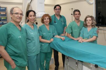 El servicio de Cardiología del Hospital de Guadalajara incorpora una técnica para el cierre de comunicaciones entre aurículas mediante dispositivos percutáneos