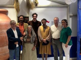 El Gobierno regional acompaña a La Puebla de Montalbán en la presentación del 'XXI Festival Celestina' en la Oficina de Promoción Turística de Castilla-La Mancha en Madrid