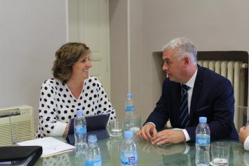 El Gobierno regional  y la Diputación Provincial de Guadalajara abordan la próxima convocatoria del Plan de Empleo y el impulso económico y turístico