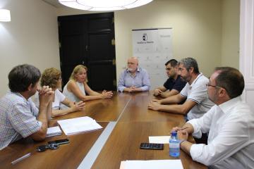 Reunión Junta y Asociación de Empresarios de Hostelería de Albacete