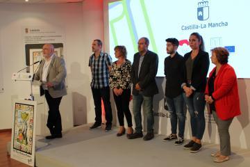 Presentación ITI Turismo de Yeste en el stand de la Junta en la Feria de Albacete 2019
