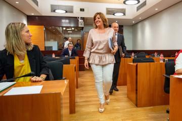 La consejera de Economía, Empresas y Empleo, Patricia Franco, comparecerá en las Cortes Regionales para trazar la estrategia política de la Consejería.
