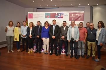 La consejera de Economía, Empresas y Empleo, Patricia Franco, presenta la segunda edición del Encuentro Profesional de Gastronomía de Castilla-La Mancha 'CULINARIA'