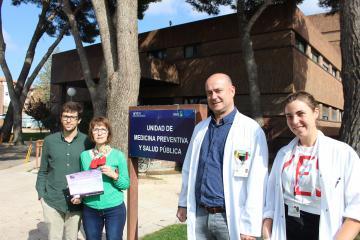 Un residente de la Gerencia de Atención Integrada de Albacete premiado en el XX Congreso Nacional de Medicina Preventiva
