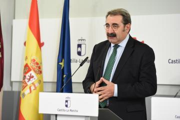 ueda de prensa del Consejo de Gobierno (Consejero de Sanidad)