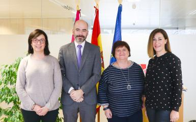 El SESCAM traslada a la Asociación Española de Enfermería de Salud Mental el compromiso de avanzar en cuidados especialistas y una mayor profesionalización