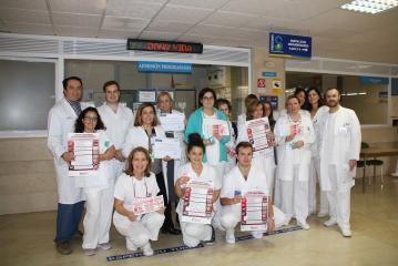 El Hospital de Cuenca obtiene un reconocimiento por los buenos resultados obtenidos con el desarrollo del programa 'Flebitis Zero'