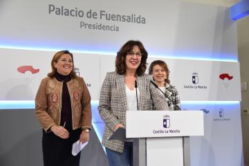 Rueda de prensa del Consejo de Gobierno 18D (Blanca Fernández II)