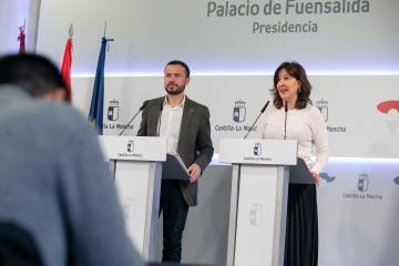Rueda de prensa del Consejo de Gobierno, Blanca Fernández (II)