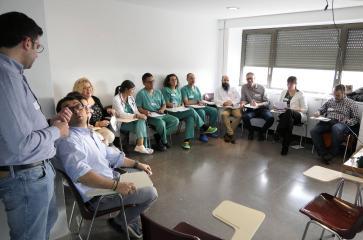 Profesionales del Área Integrada de Guadalajara se forman en un curso de simulación clínica de trabajo multidisciplinar en diferentes escenarios