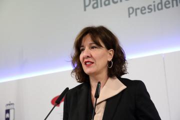 La consejera de Igualdad y portavoz, Blanca Fernández, se ha pronunciado hoy sobre el 'pin parental'