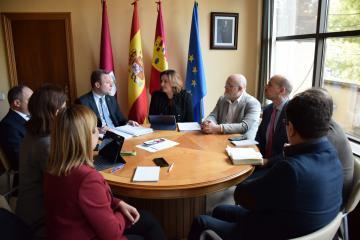 El Gobierno de Castilla-La Mancha y el Ayuntamiento sumarán esfuerzos para la promoción empresarial y generación de oportunidades de empleo en Albacete