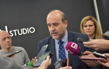 El vicepresidente de Castilla-La Mancha, José Luis Martínez Guijarro visita, a las 10:30 horas, las instalaciones de la empresa Vsion Studio.