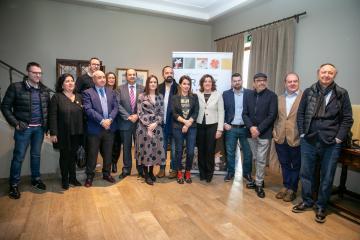 La consejera de Economía, Empresas y Empleo del Gobierno regional, Patricia Franco, inaugura la primera jornada de formación Raíz Culinaria,