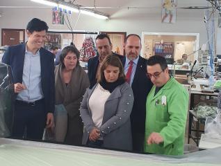El Gobierno regional movilizó en Talavera y su comarca, con la línea de Inversión del I Plan Adelante, más de 6,5 millones de euros, con una inyección económica de la Junta de unos 2,5 millones