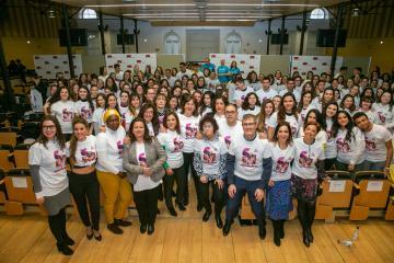 La consejera de Igualdad y portavoz del Gobierno regional, Blanca Fernández, inaugura la 'III Jornada soy mujer'
