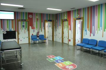 Reubicación de Urgencias Pediátricas en el Hospital de Albacete