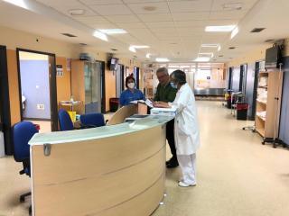 """La Gerencia de Puertollano ha ampliado hasta 190 las camas útiles en el hospital """"Santa Bárbara"""" y está en disposición de llegar a las 230"""