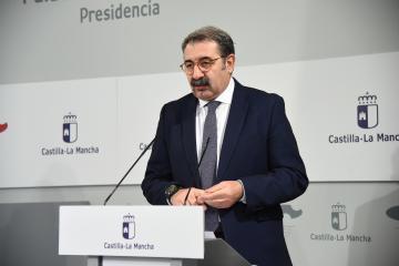 Rueda de prensa sobre la reunión con los representantes de los partidos políticos de las Cortes (Sanidad)