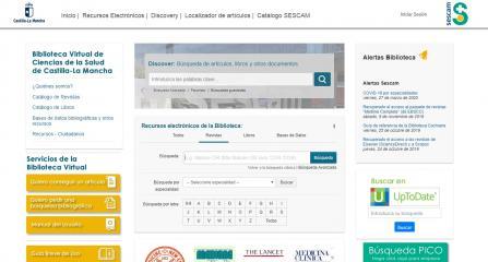 Las bibliotecas de Ciencias de la Salud del SESCAM participan en la iniciativa nacional para ofrecer información actualizada sobre Covid-19
