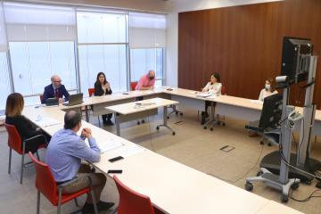 El SESCAM informa a los representantes sindicales sobre el proceso de desescalada en los centros sanitarios y continúa con la reactivación de la negociación colectiva iniciada el pasado mes de abril
