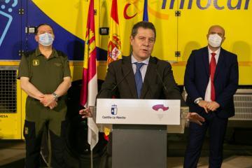 Visita a las instalaciones del Centro Operativo Provincial (COP) en Cuenca (II)