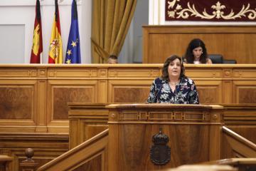 Pleno de las Cortes regionales (4 de junio) Patricia Franco  (II)