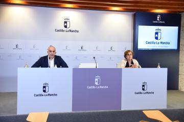 Rueda de prensa sobre la incidencia del contagio por coronavirus en CLM
