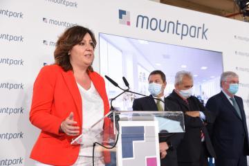 Visita a las obras del proyecto logístico Mountpark Illescas I (Economía)