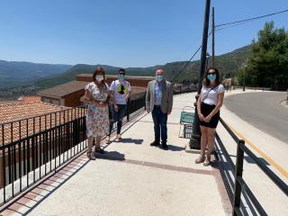 Visita de Ruiz Santos a las infraestructuras ITI de Yeste