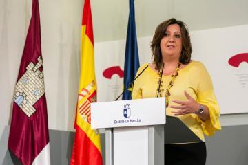 Rueda de prensa de Patricia Franco sobre asuntos del Consejo de Gobierno relacionados con su departamento