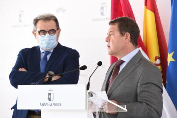 Inauguración de la helisuperficie del Sescam en el Centro de Especialidades Médicas de Tarancón (II)