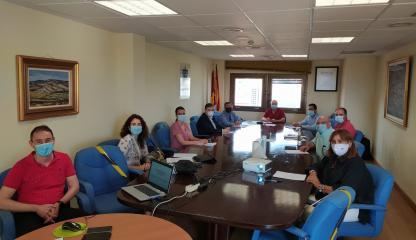 La Mesa del Sector Logístico de Guadalajara evalúa la labor inspectora y en materia de prevención de riesgos laborales en el sector