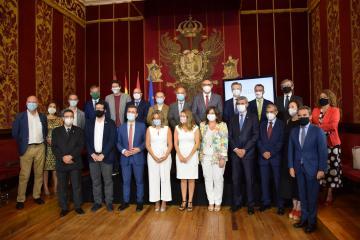 La consejera de Economía, Empresas y Empleo, Patricia Franco, participa en el acto de presentación de Toledo como Capital Europea de la Economía Social