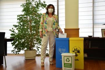 La Consejería de Economía, Empresas y Empleo y Ecoembes suman esfuerzos para la mejora de la gestión de los residuos en sus instalaciones
