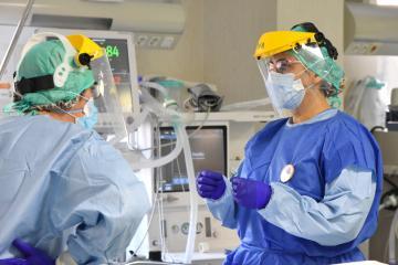 Desciende el número de pacientes hospitalizados por infección de coronavirus en Castilla-La Mancha